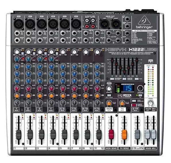 Mixer / Mesa De Som Xenyx X1222 Usb Bivolt - Behringer  - MegaLojaSP