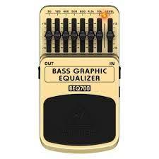 Pedal Behringer BEQ700 Bass Equalizer   - MegaLojaSP