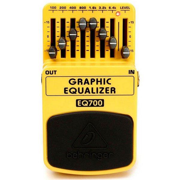 Pedal Behringer EQ700 Equalizador  - MegaLojaSP