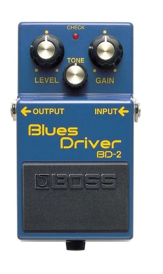 Pedal Boss Bd2 Blues Drive   - MegaLojaSP
