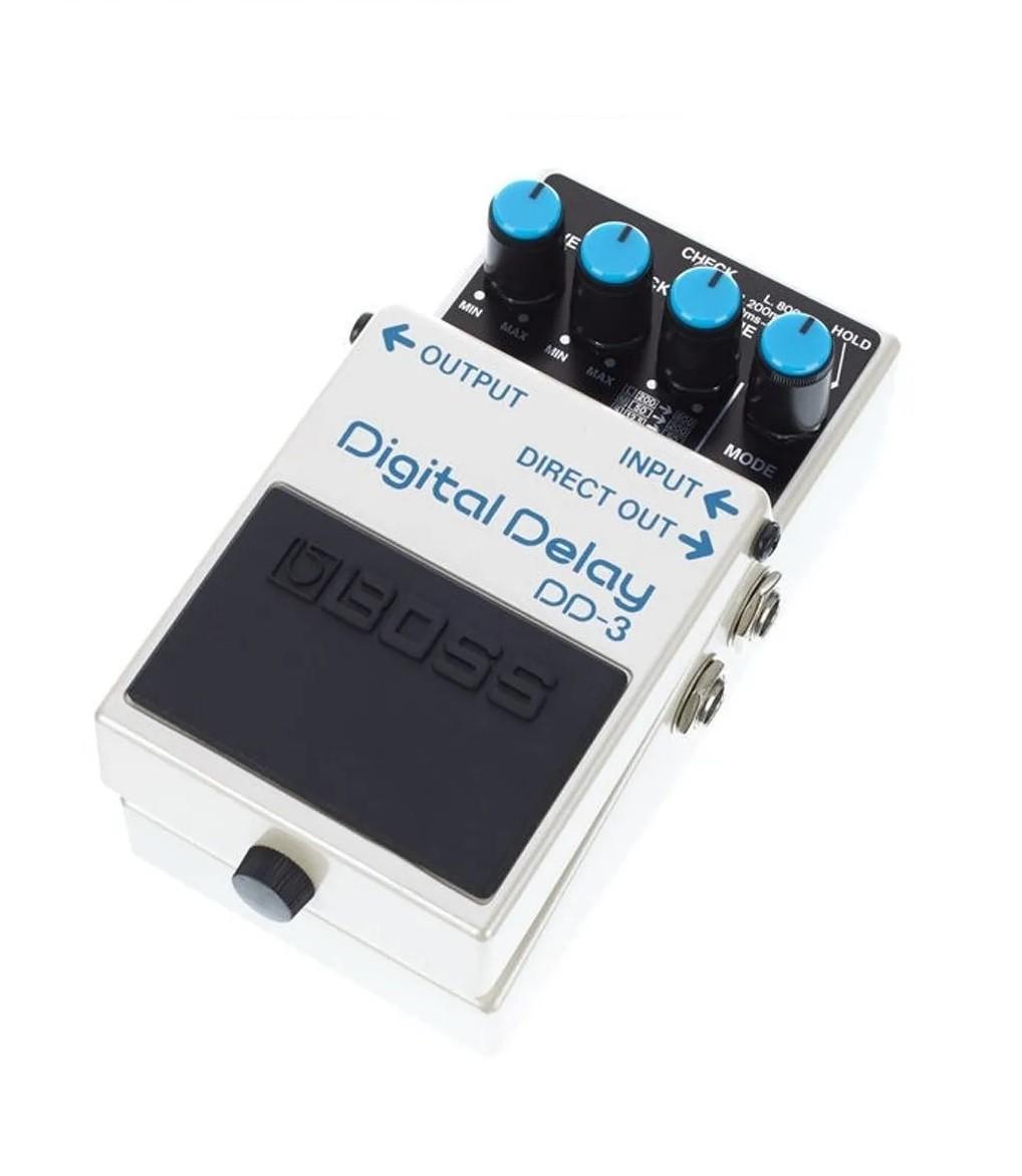 Pedal De Delay Boss DD3 Para Guitarra  - MegaLojaSP