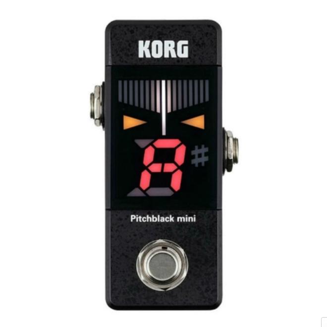 Pedal Korg para Guitarra e Baixo PiTchblack PB-Mini  - MegaLojaSP