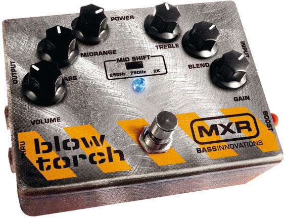 Pedal MXR Blowtorch Baixo   - MegaLojaSP