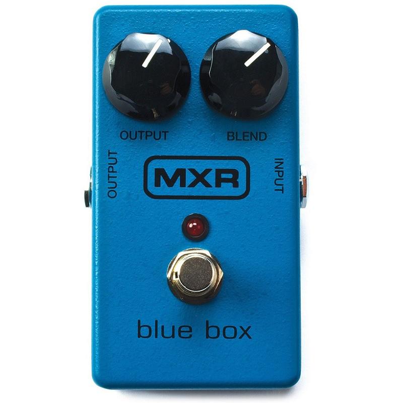 Pedal MXR Blue Box Octave Fuzz M103  - MegaLojaSP