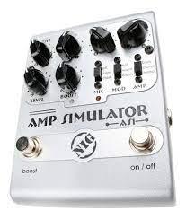 Pedal Nig Amp simulator AS1 guitarra  - MegaLojaSP