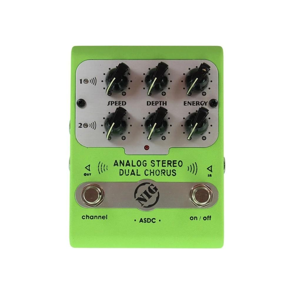 Pedal Nig Asdc Dual Chorus Asdc  - MegaLojaSP