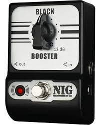 Pedal Nig Black Booster NBB   - MegaLojaSP