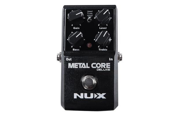 Pedal Nux Metal core deluxe guitarra  - MegaLojaSP