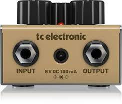 Pedal Tc Electronic Drip Reverb  - MegaLojaSP