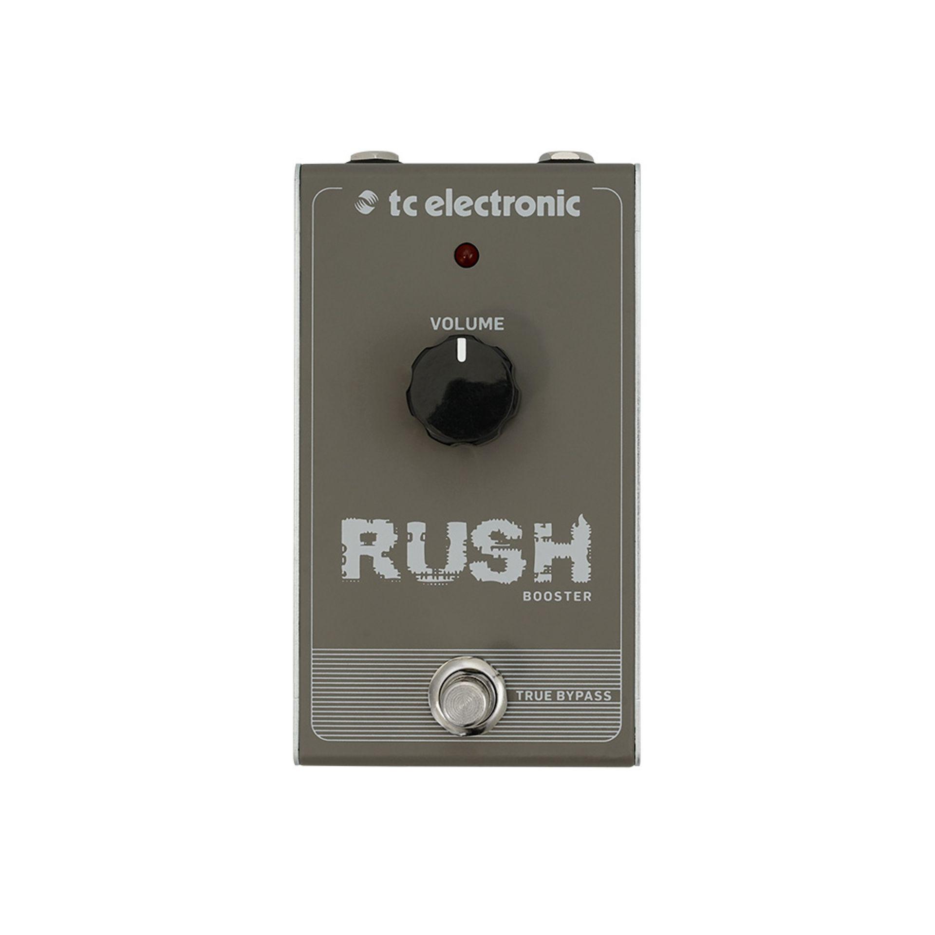 Pedal TC Electronic Rush Booster  - MegaLojaSP