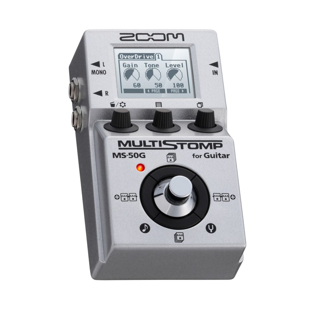 Pedal Zoom MS50g multistomp guitarra   - MegaLojaSP