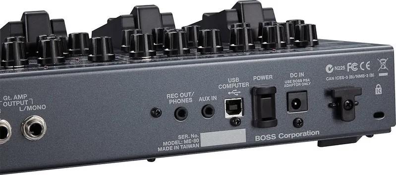 Pedaleira Boss para Guitarra com Expressão ME80  - MegaLojaSP