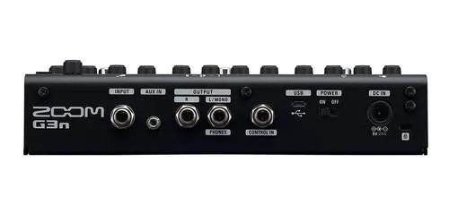 Pedaleira Zoom G3n Multi-efeitos Para Guitarras  - MegaLojaSP