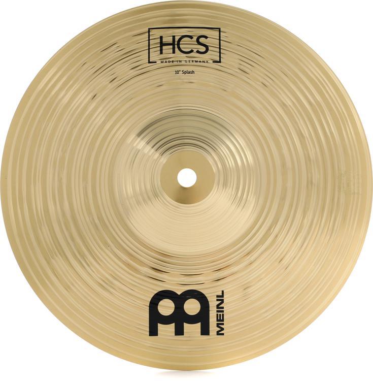 """Prato Meinl HCS 10S Splash 10"""" MS63 Alloy Made in Germany  - MegaLojaSP"""