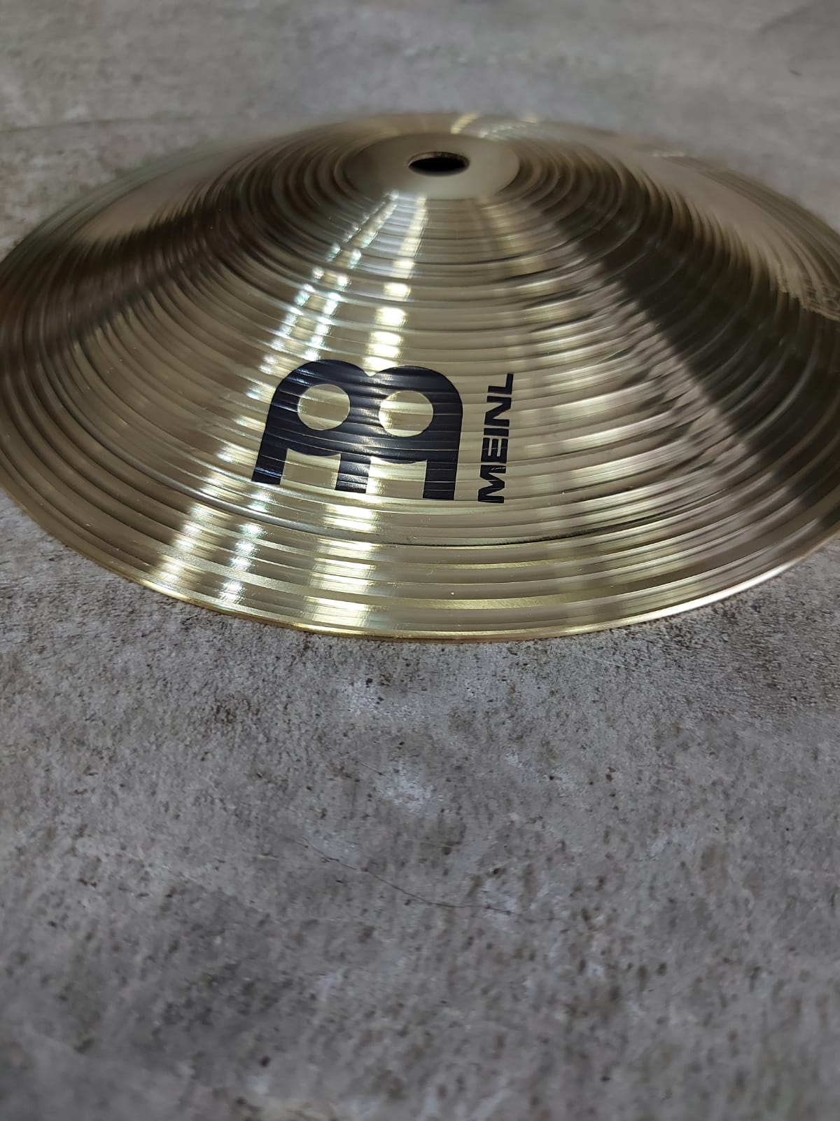 Prato Meinl HCS 8B Bell MS63 Alloy Made in Germany  - MegaLojaSP
