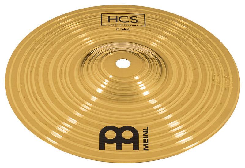 """Prato Meinl HCS 8S Splash 8"""" Ms63 Alloy Made in Germany  - MegaLojaSP"""