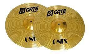 """Prato Ngate Onix Hi Hat 14""""  - MegaLojaSP"""