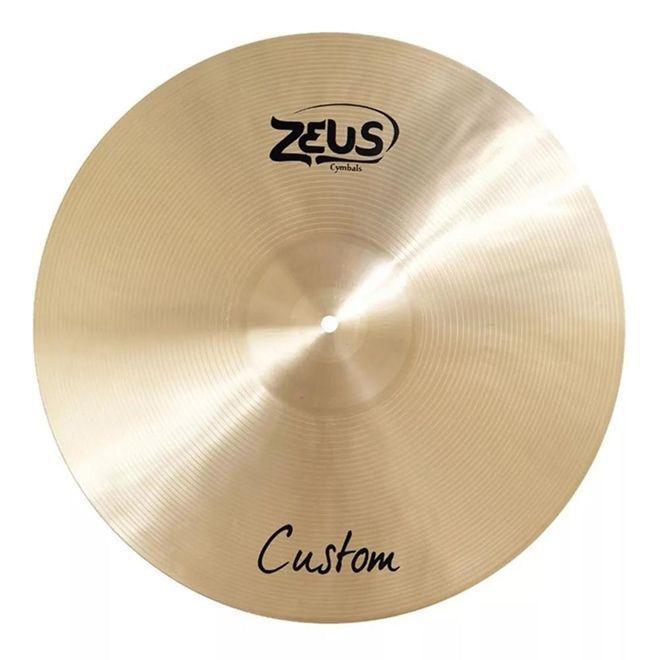 "Prato Zeus Custom Crash 17"" B20 ZCC17  - MegaLojaSP"