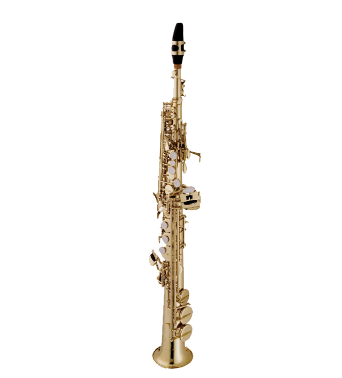 Sax Soprano Vogga Reto Niquelado c/ Case VSSP701N   - MegaLojaSP