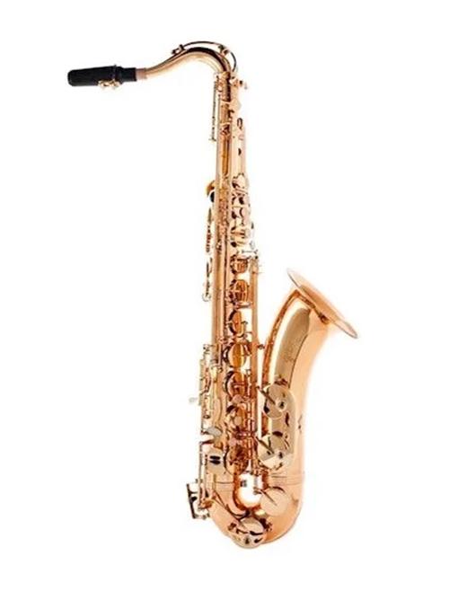 Sax Soprano Schieffer Curvo Laqueado Chaves Niqueladas SCHSS002C  - MegaLojaSP