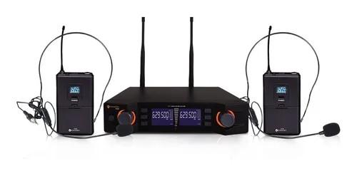 Microfone Sem Fio K492hh Headset Duplo - Kadosh  - MegaLojaSP