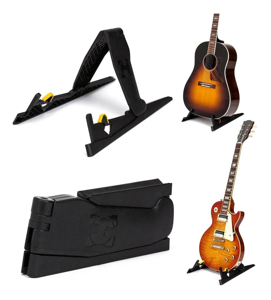Suporte Hercules Portátil Guitarra & Violão Gs200b  - MegaLojaSP