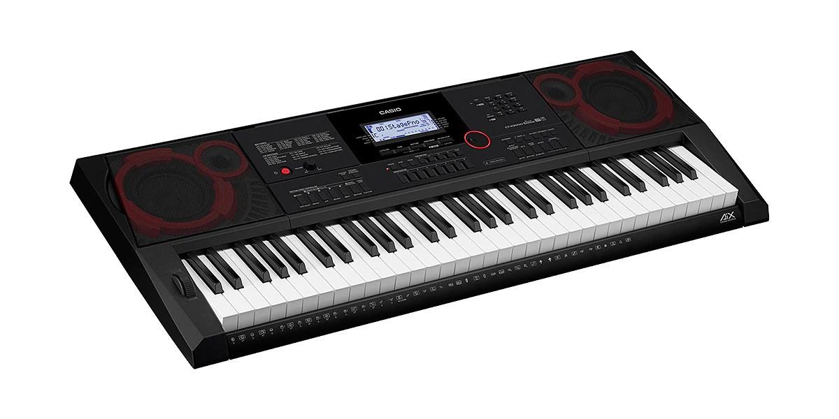Teclado Casio Arranjador 61 Teclas MIDI CTX3000   - MegaLojaSP