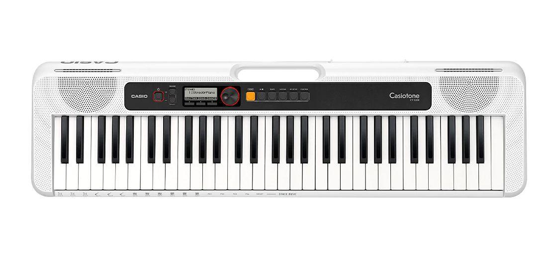 Teclado Casio Digital  CTS200 Casiotone Branco 61 Teclas  - MegaLojaSP