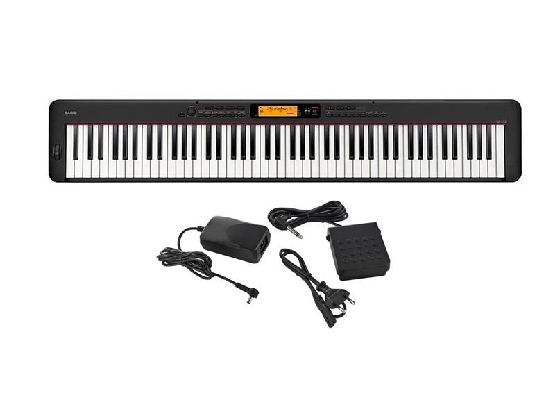 Teclado Casio Piano Digital Stage CDPS350 Preto BK Promoção  - MegaLojaSP