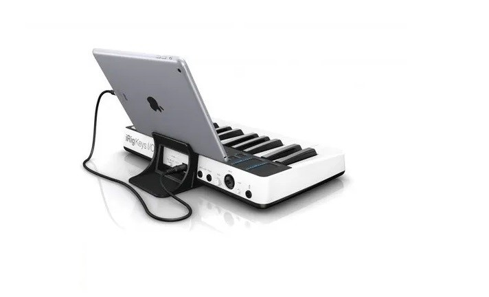 Teclado Controlador Ik Multimedia Irig Keys I/O 25  - MegaLojaSP