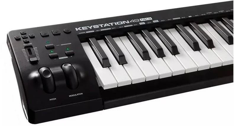 Teclado Controlador Usb Keystation 49 Mk3 M-Audio  - MegaLojaSP
