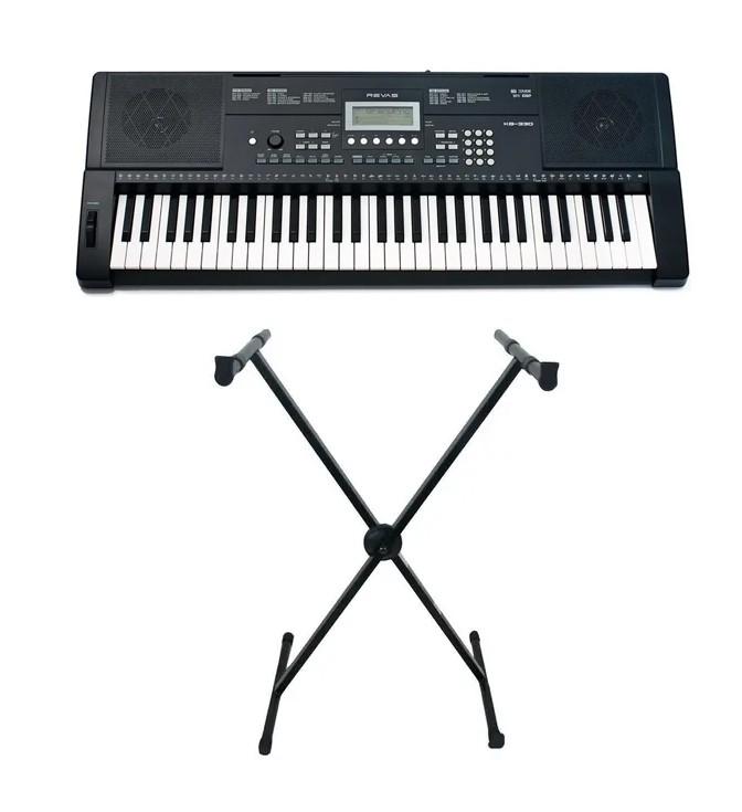 Teclado Roland Arranjador Revas 61 Teclas USB MIDI KB330 kit  - MegaLojaSP