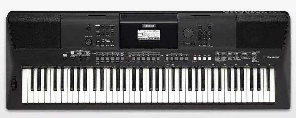 Teclado Yamaha PSR EW410  - MegaLojaSP