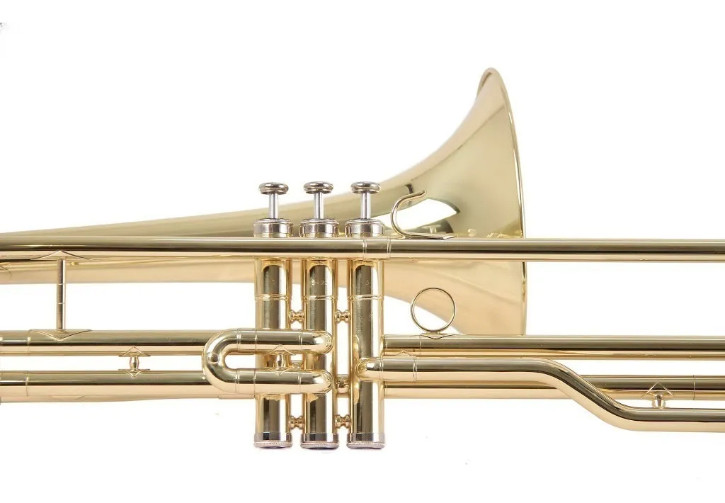 Trombone Schieffer De Pistos Sib Longo Laqueado c/ Case Schtb002  - MegaLojaSP