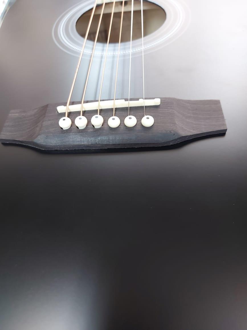 Violão Brixton Eletroacústico 6 Cordas Preto JY41CBK  - MegaLojaSP