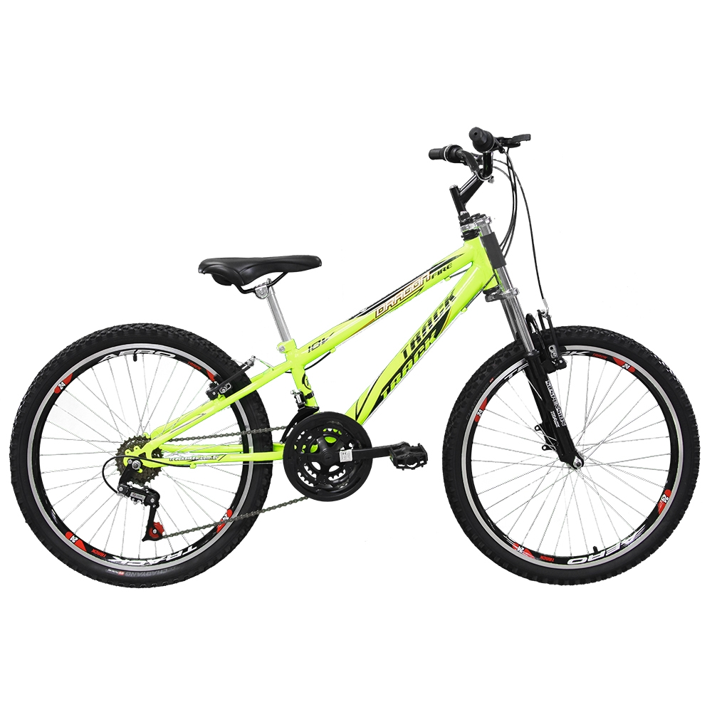 Bicicleta TK3 Track Dragon Fire Juvenil Aro 24