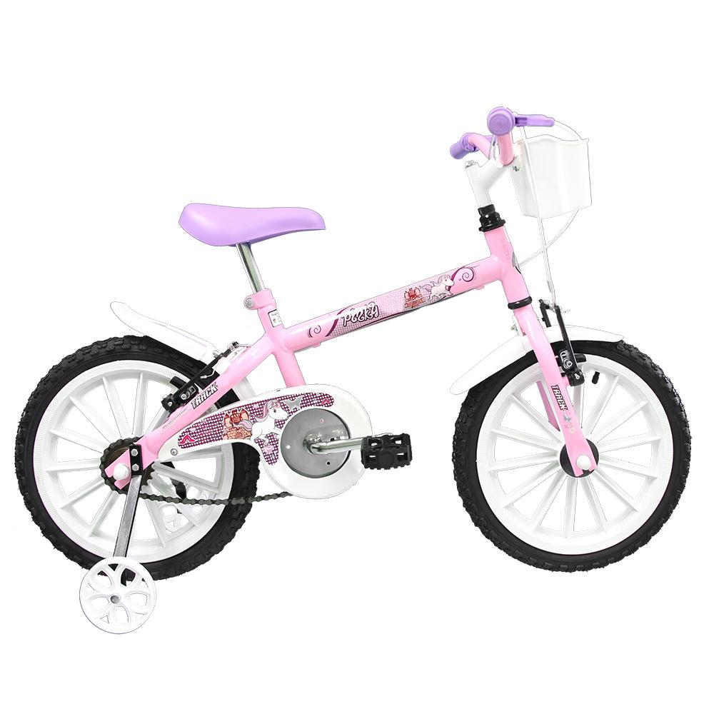 Bicicleta TK3 Track Pinky Infantil Aro 16