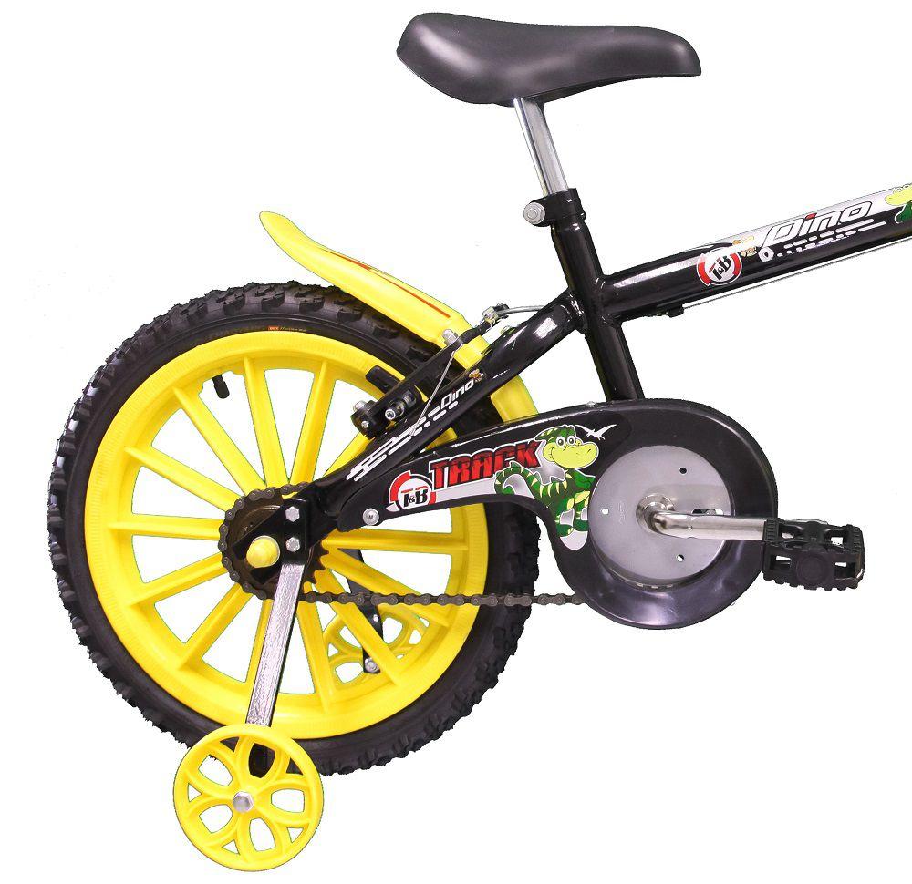 Bicicleta TK3 Track Dino Infantil Aro 16