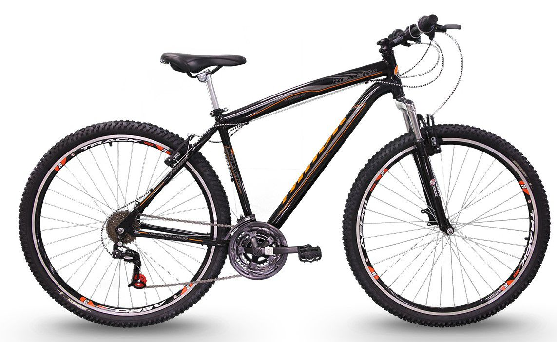 Bicicleta TK3 Track Black 29  Mountain Bike Aro 29