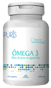 Ômega 3 PLUS 1000mg - 120 cápsulas - PURIS