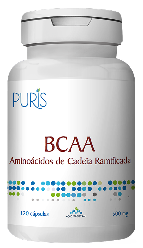 BCAA 500mg 120 Cápsulas - PURIS