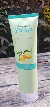 Creme Hidratante Limão Siciliano e Chá Verde - Aromas Green 150ml