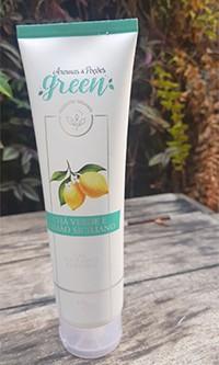 Gel Esfoliante Corporal  Limão Siciliano e Chá Verde 150 ml- Aromas Green