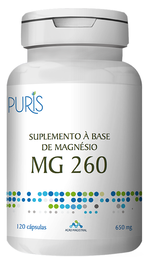 Magnésio 120 Cápsulas - PURIS