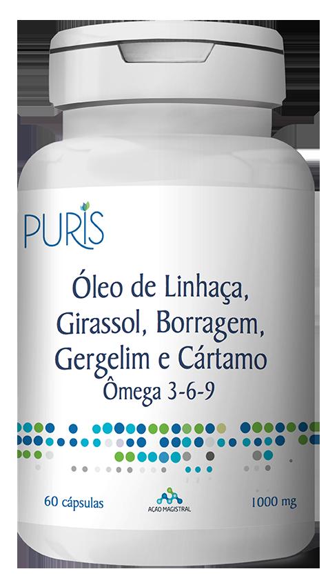 Omega 3-6-9 100mg 6 unidades - PURIS