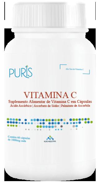 Vitamina C - PURIS 60 capsulas