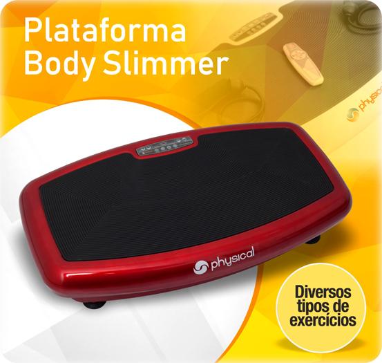 plataforma vibratória slimmer physical