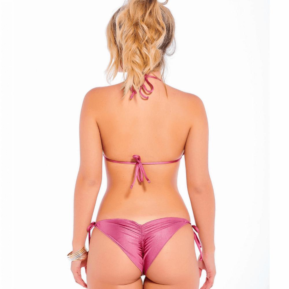 Biquini ripple lilás