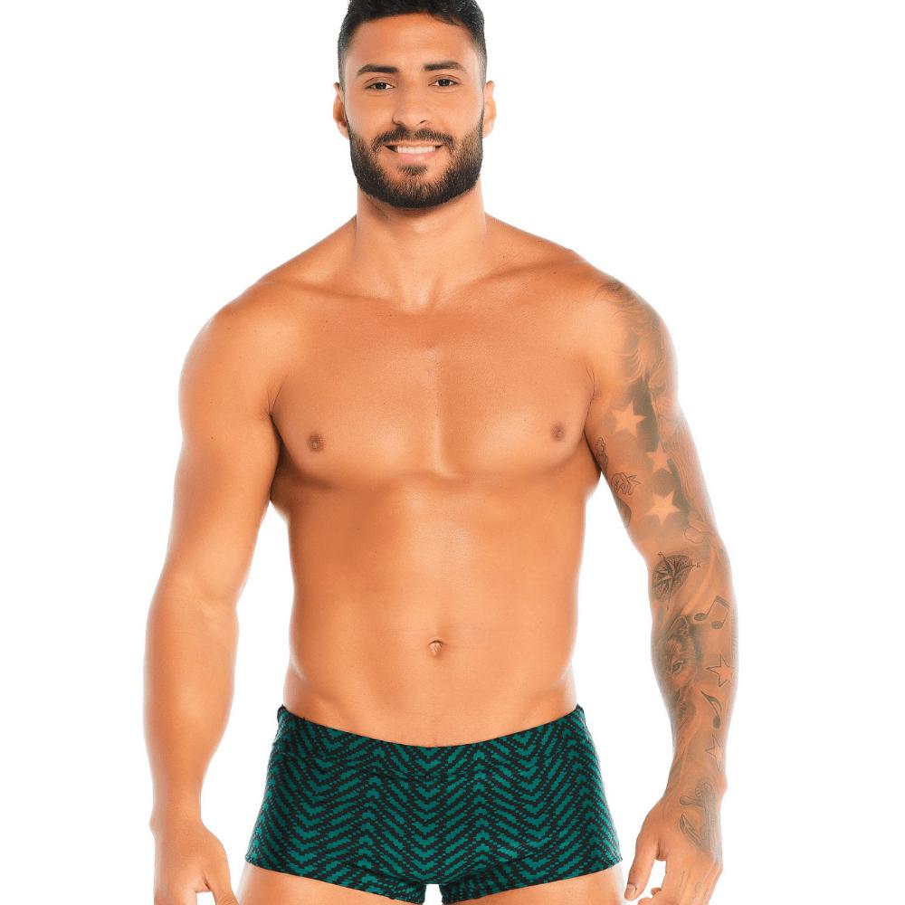 Sunga boxer geométrica