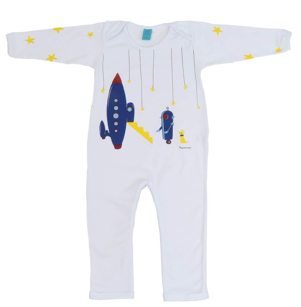 macação primeiros passos menino robô espacial